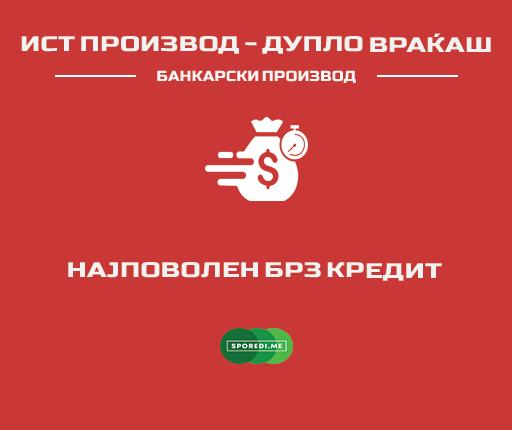 Брз кеш кредит – април 2021