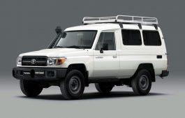 Toyota Land Cruiser е официјално првиот автомобил кој пренесува вакцини