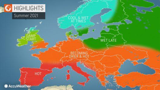 Најава на пад на температурата, можни врнежи во некои делови од земјата
