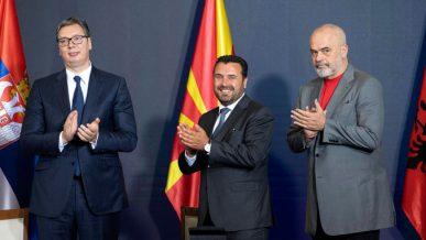 Заев, Вучиќ и Рама на прав пат кон иднината