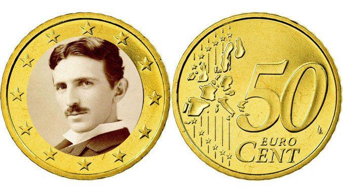 Новото хрватско евро ќе биде со ликот на Никола Тесла