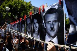 Францускиот бунтовен народ протестира за слободата на избор