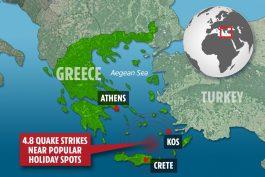 Земјотрес во Грција